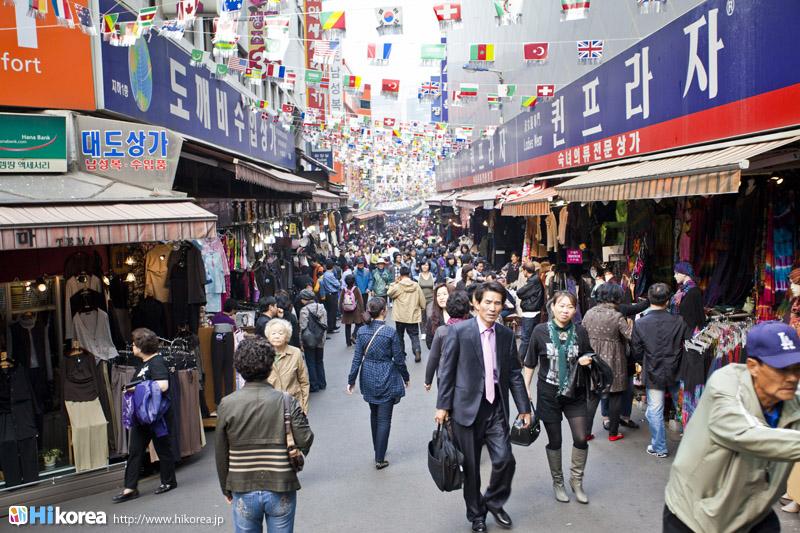 208c3abd44c 南大門市場ナンデムンシジャン|韓国ソウルショッピングエリア 「ハイコリア」